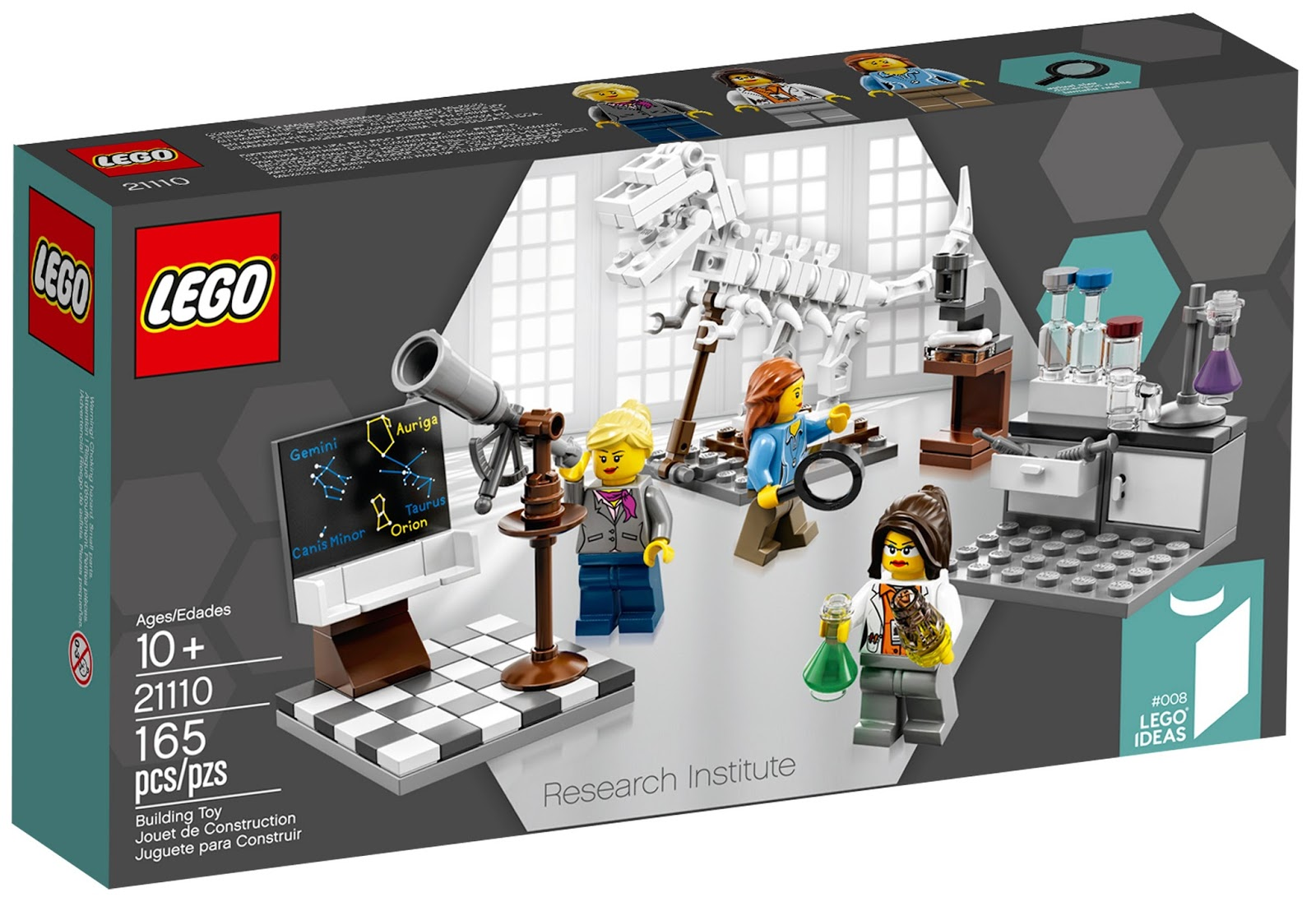 The Brickverse: Research Institute official images