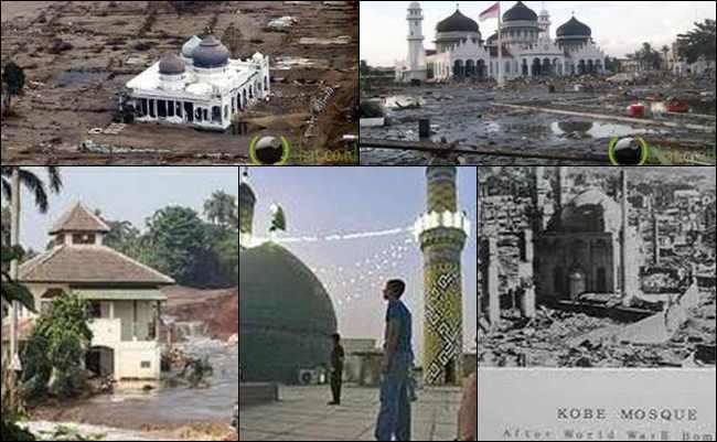 7 Masjid di Dunia yang Selamat dari Musibah Besar