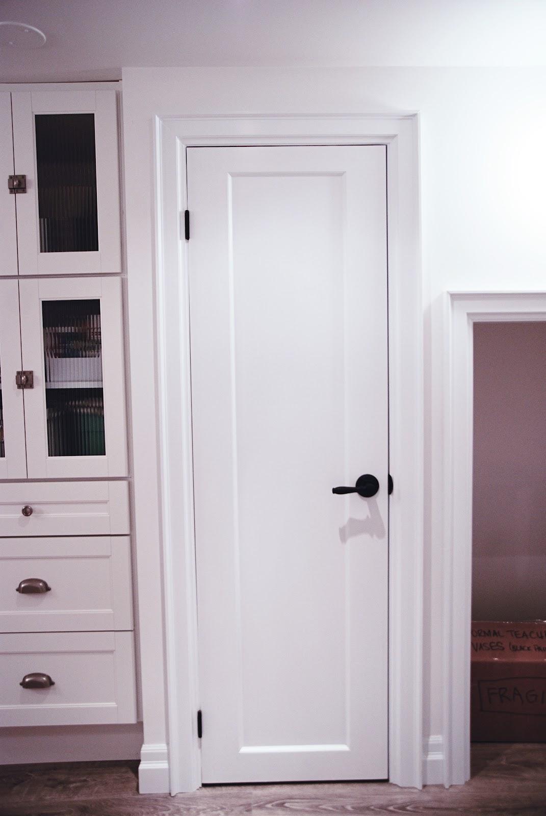 Chic Little Laundry Room Door - Rambling Renovators