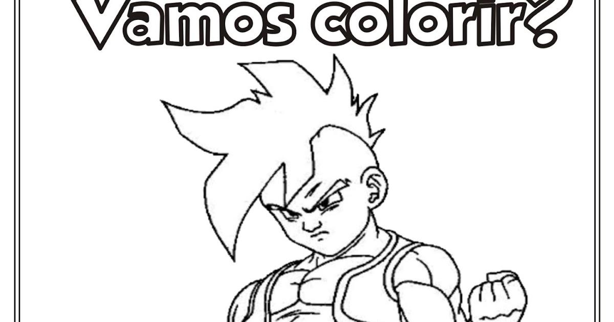 Ideia Criativa Lindas Imagens: Desenho Dragon Ball Z Para