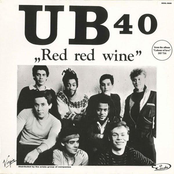 80´s Vinyl CD 320: UB40 - Red Red Wine [Vinyl, 12'' Europe