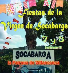 Fiestas de la Virgen de Socabarga