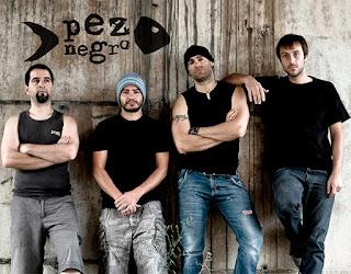 Integrantes del grupo Pez Negro