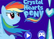 MLP: Rainbow Dash Crystal Hearts juego