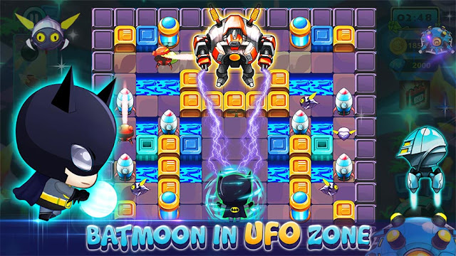 Game Bomberman Android Offline Bomber Legend APK MOD