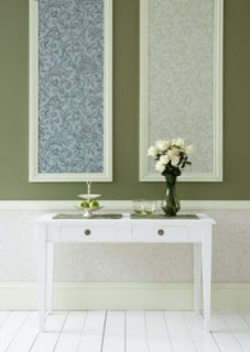 Colors in Frames and Mouldings on Walls 6