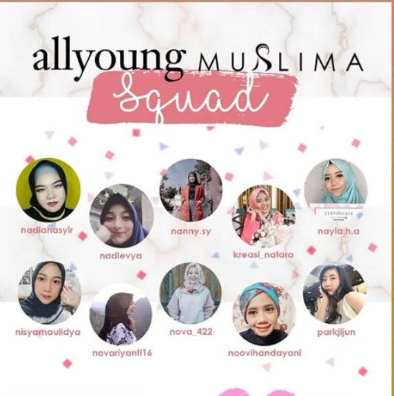 All Young Muslima Squad