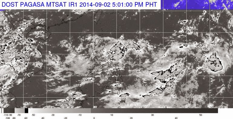LPA spotted at Baler, Aurora; to be called 'Karding' once become a tropical cyclone