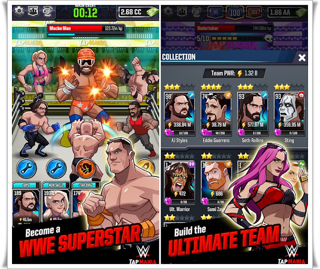 WWE-Tap-Mania-Screenshots