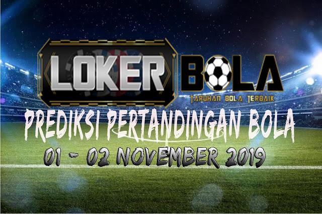 PREDIKSI PERTANDINGAN BOLA 06 – 07 NOVEMBER 2019