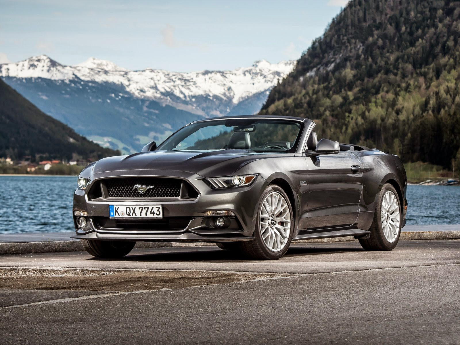 Ford-Mustang Convertible EU-Version wallpapers 野馬跑車桌布 | Free HD Wallpapers