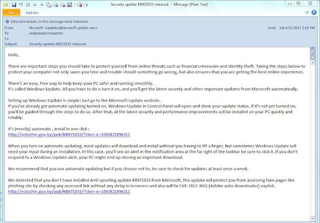 contagio malware exchange