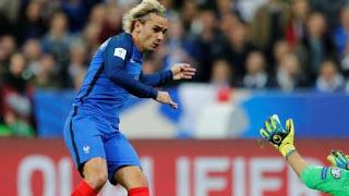 Kalahkan Belarusia 2-1, Perancis Lolos ke Piala Dunia 2018