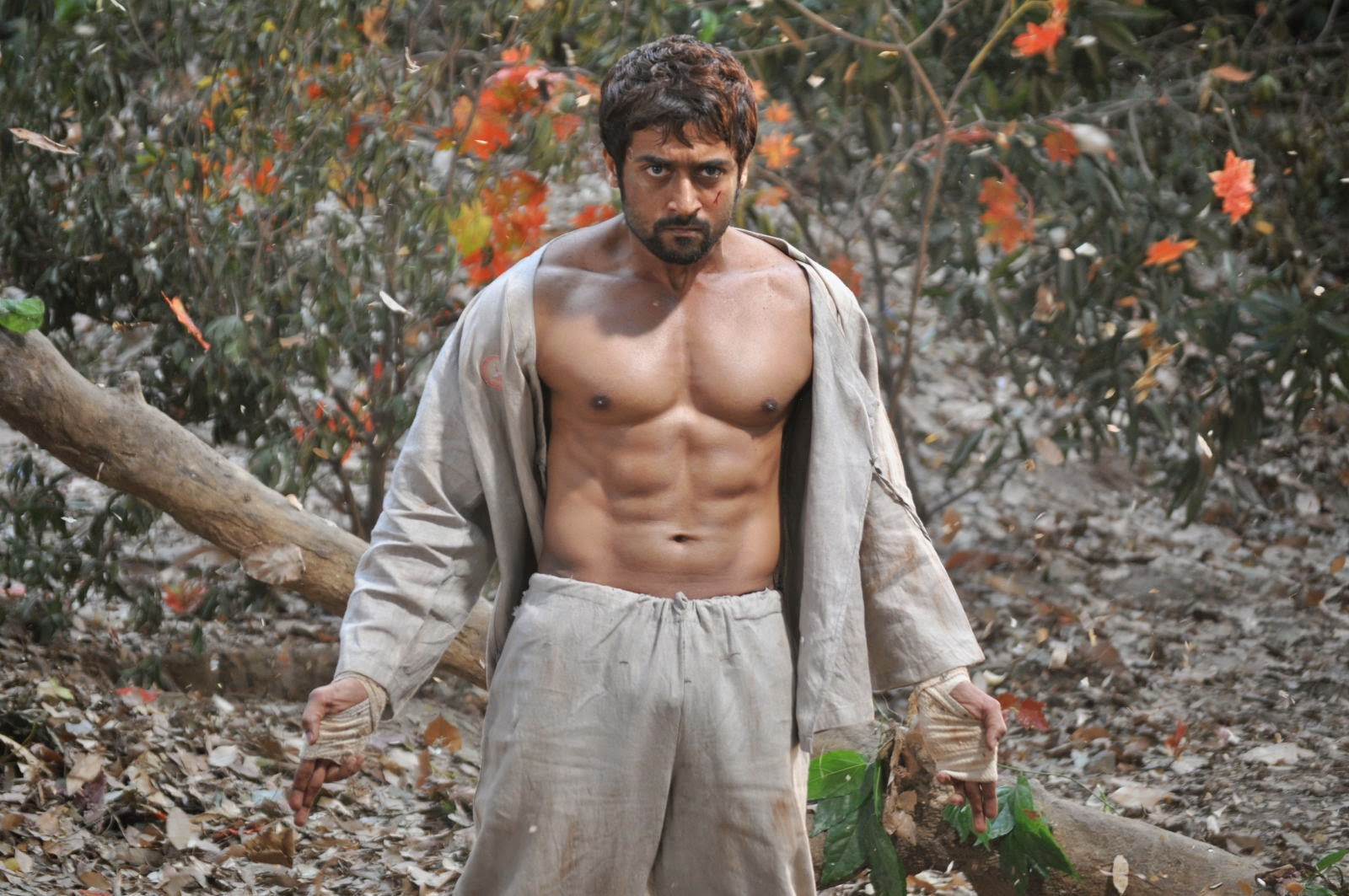 Hdhotwallpaperslovefacebookimagesbabyimagespicturesphotos surya six pack abs in his movie 7am thecheapjerseys Images