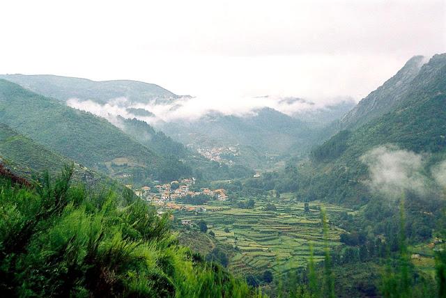 Region Vinho Verde im Norden von Portugal