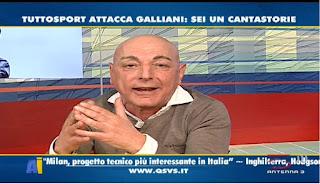 Telecronisti tifosi QSVS Marcello Chirico Milan Juventus 1-2 video