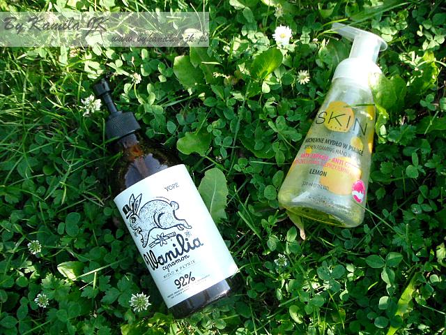 Yope mydło w płynie wanilia cynamon ProSkin w piance cytrynowe