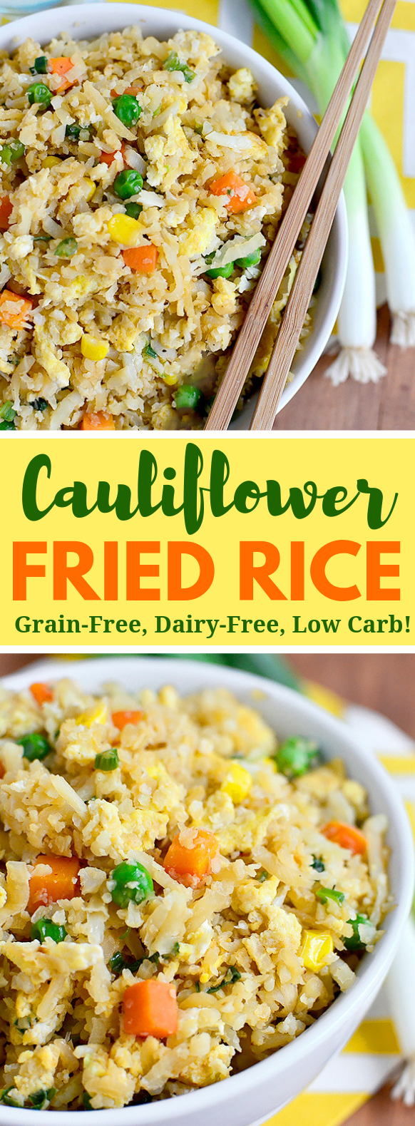 Cauliflower Fried Rice #healthydiet #lowcarb