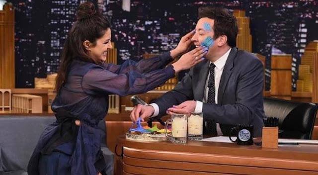 Priyanka Chopra Hot stills at 'The Tonight Show'