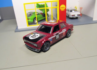 Hot Wheels Track Day Datsun   510