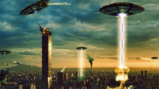 Extraterrestrial invasion