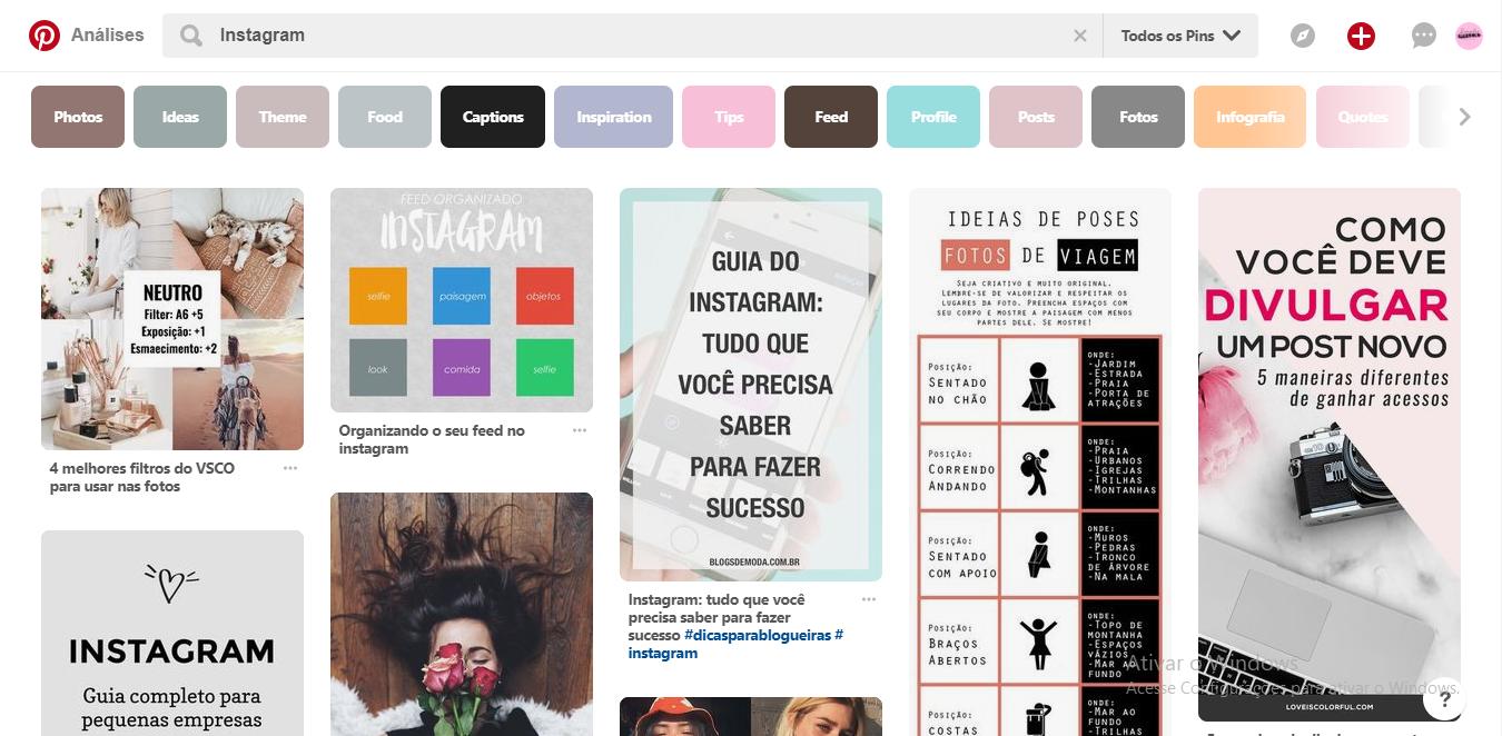 Como otimizar seu perfil no Pinterest usando SEO e Palavras-chave
