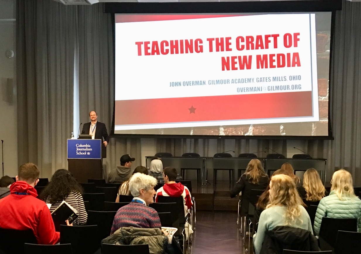 John Overman: CSPA Spring 2019: New Media Classroom