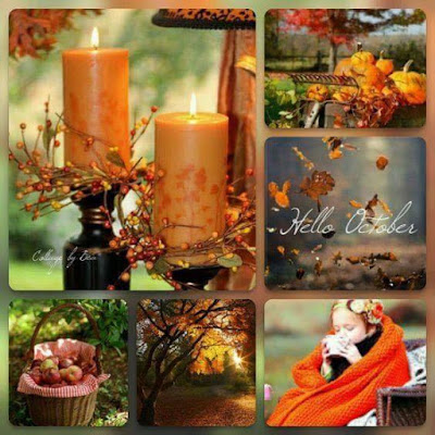 October Mood Board Challenge