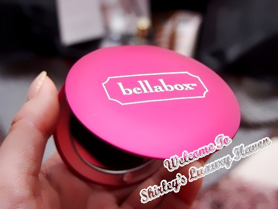 october bellabox birthday compact vanity mirror