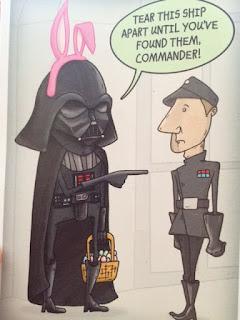 Star Wars Darth Vader Easter Card