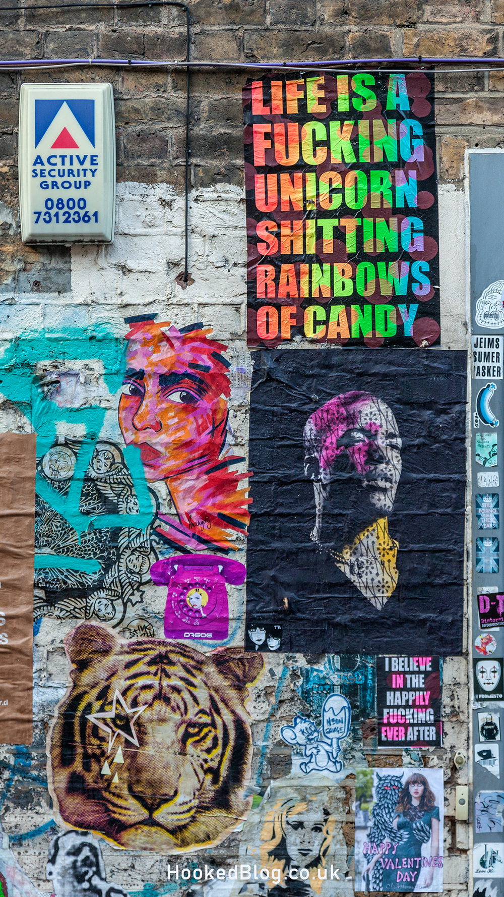 Street Artists Aida Wilde, Donk And Zombiesqueegee hit the Streets of London