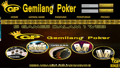 GEMILANGPOKER.COM Situs Agen Poker Dan Bandar Q Terbaik Indonesia Terpercaya jagoseo779.jimdo.com