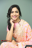 Actress Ritu Varma Pos in Beautiful Pink Anarkali Dress at at Keshava Movie Interview .COM 0205.JPG