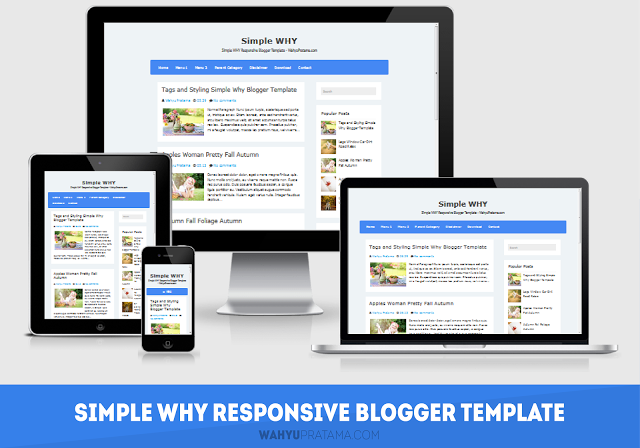 Simple WHY Responsive | Premium Blogger Template Cocok Buat Daftar Google Adsense by Anas Blogging Tipsgger Template Cocok Buat Daftar Google Adsense by Anas Blogging Tips