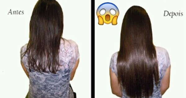 receita para crescer cabelo