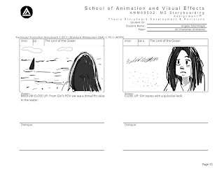 lord of the ocean storyboards