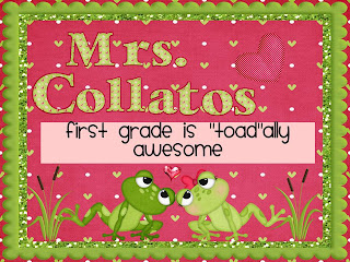 First Grade is 'Toad'ally Awesome!
