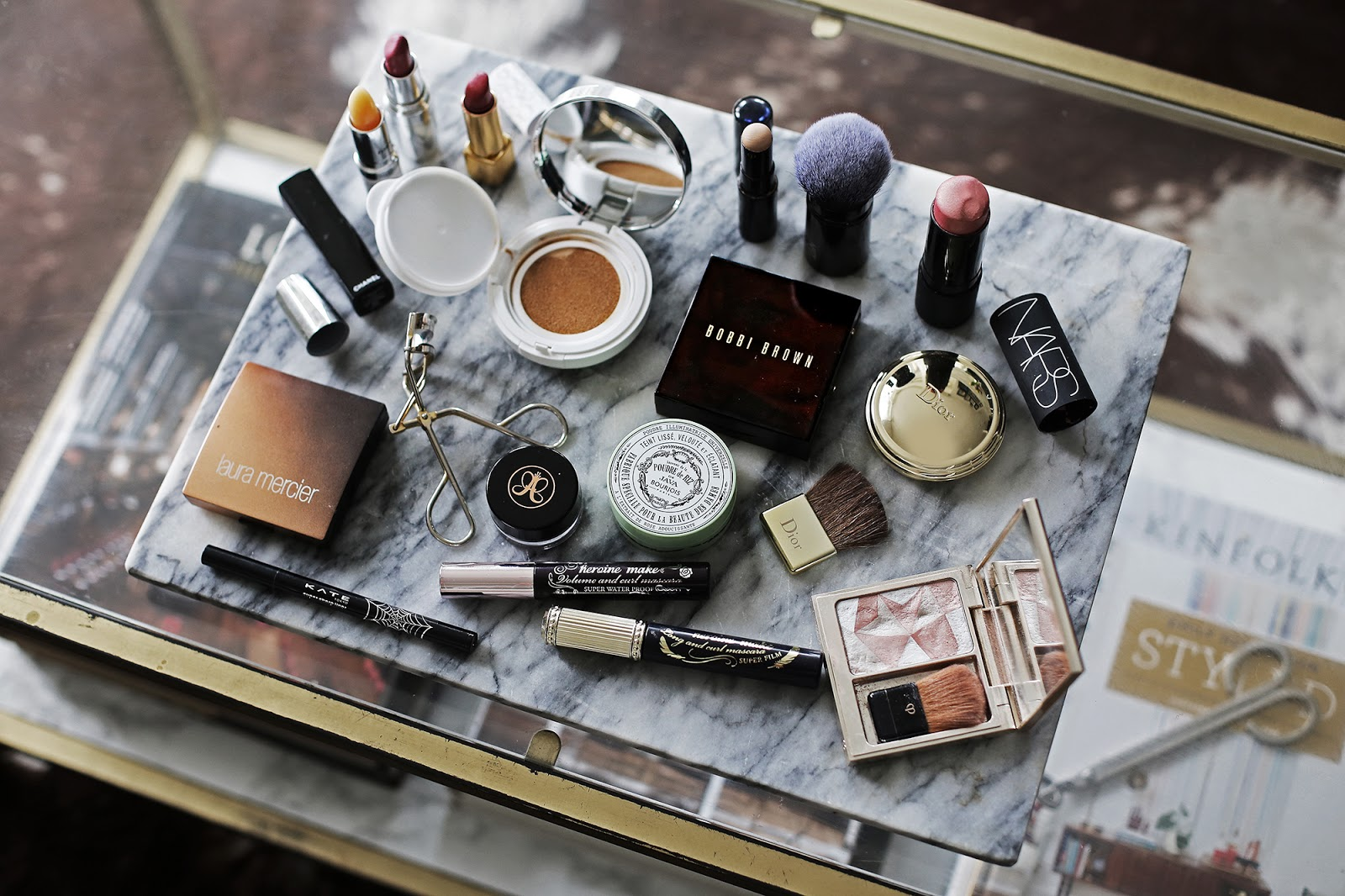 What's In My Makeup Bag - My 16 Luxury & Drugstore Beauty Essentials