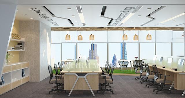 Lựa chọn những mẫu ghế văn phòng giá rẻ có kích thước vừa phải, gọn gàng giúp việc di chuyển linh hoạt hơn