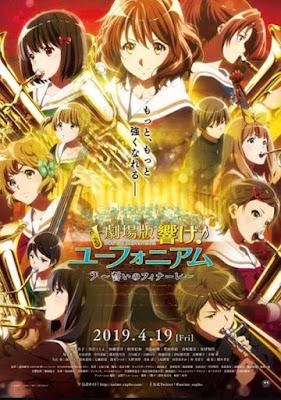 Anime: Nuevo vídeo promocional de Gekijōban Hibike! Euphonium: Chikai no Finale