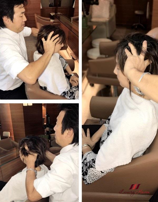 grand hyatt mosche hair salon scalp treatment review
