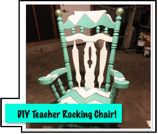 Lady Literacy Classroom Rocking Chair Monday Made It