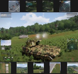 Arma3のJets DLC用カスタム ディスプレイ情報