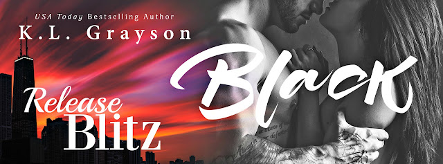 Release Blitz Black by K.L. Grayson
