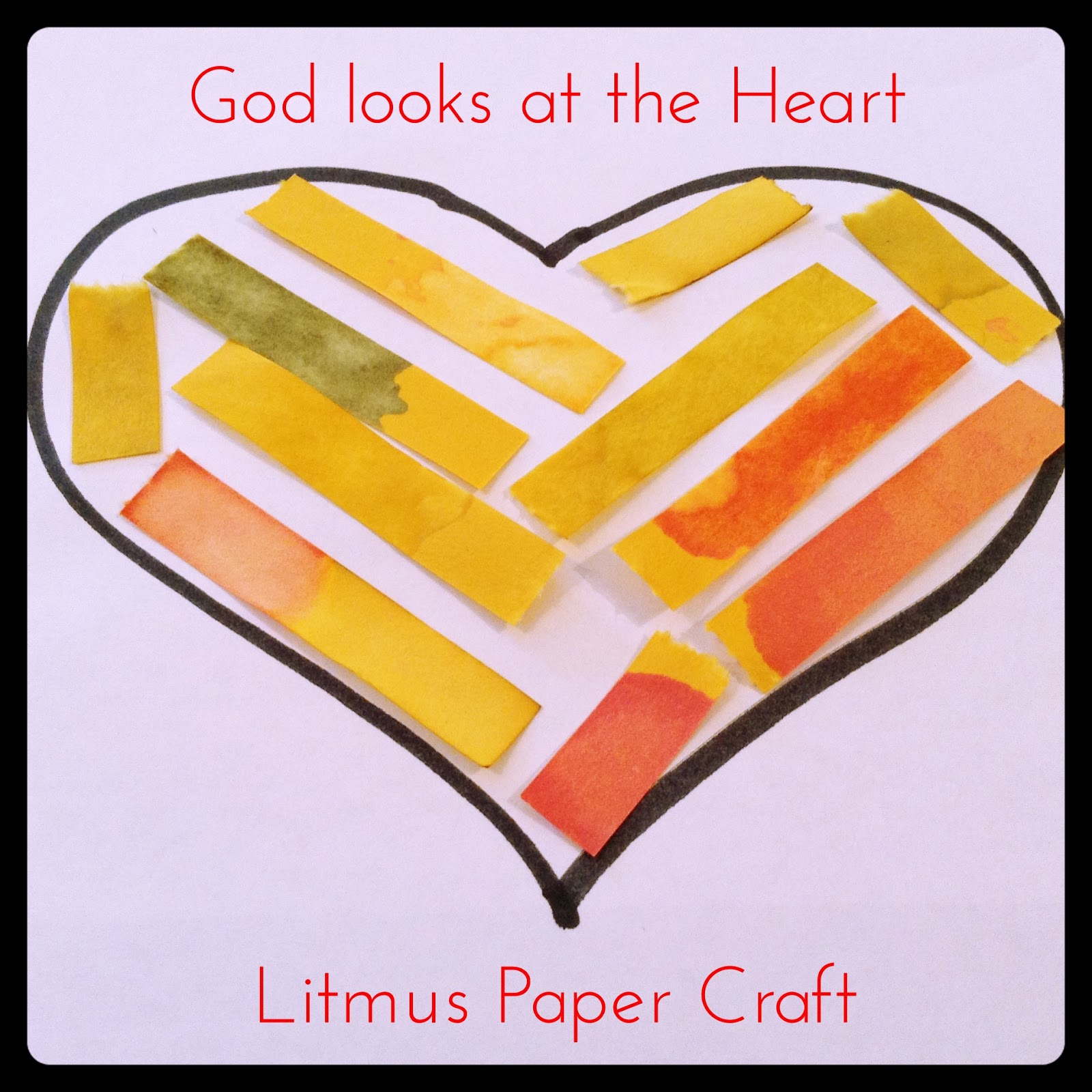 Flame: Creative Children's Ministry: God looks at the heart