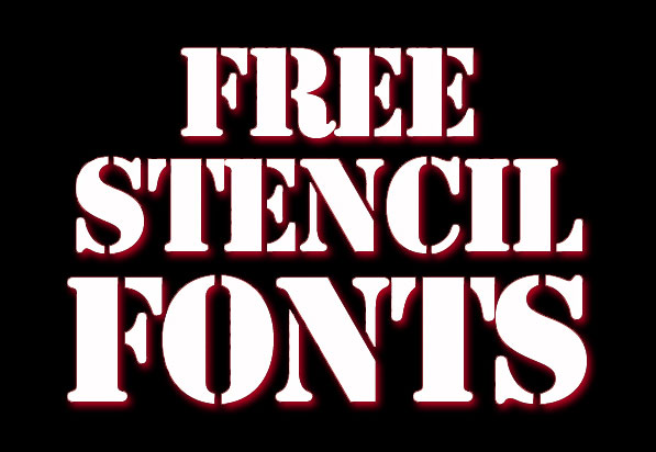 17 Best Free Stencil Fonts for Designers
