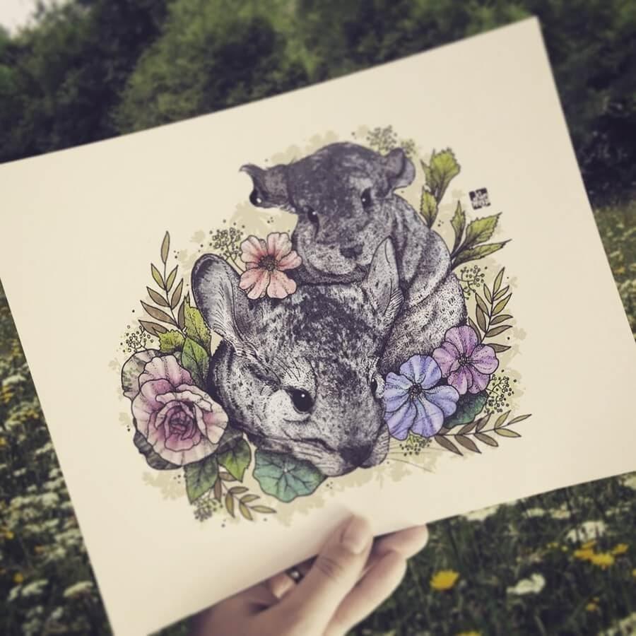 09-Chinchillas-elvenwings-Animal-Portraits-www-designstack-co