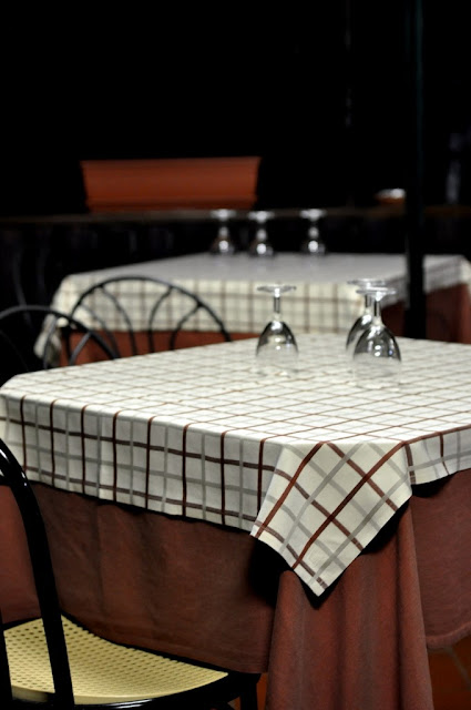 Tables on the Patio - Vecchia Osteria - Ponte a Bozzone, Italy | Taste As You Go