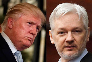 'I'm not in Agreement with Wiki releases originator, Julian Assange' – Donald Trump