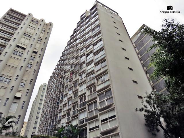 Vista ampla do Edifício Suzana - Cerqueira César - São Paulo